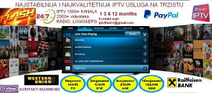 IPTV FLASH-internet televizija Podrska 24/7