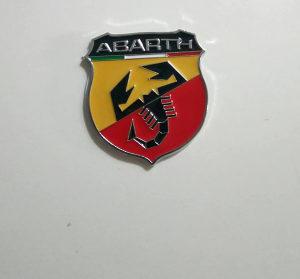 Fiat Abarth Znak - Samoljepljivi metalni