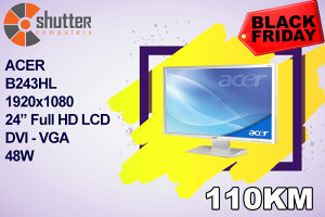 "BLACK FRIDAY ACER B243HL 24"" Full HD MONITOR"