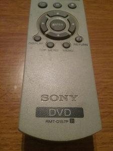 DALJINSKI SONY  DVD RMT D157P