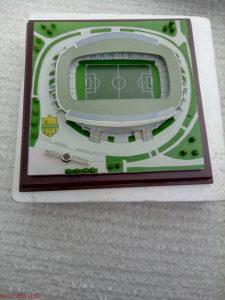 Maketa stadiona FC Nantes