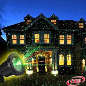 Novogodišnji laser projektor