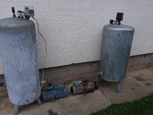 Petostepna pumpa. Pumpa za vodu. Hidrofor