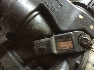 Peugeot 407 map senzor