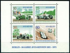 BERLIN 1971 - Poštanske marke - BLOK - ČISTE