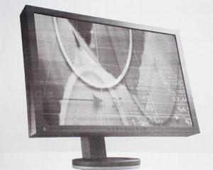 "LCD 24"" display ekran EIZO FlexScan S2433W"
