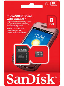 Memorijske kartice 8GB klasa 10 SanDisk