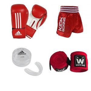 Adidas crveni kick boks set