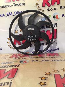 Ventilator hladnjaka opel corsa D 1.4 16V KA EM