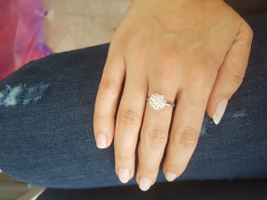 Prsten bizuterija