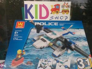 AKCIJA! Slagalice kao Lego,AVIONI razne igračke