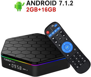 "IPTV/Android TV BOX 2GB-RAM/16GB""T95 Z Plus""OCTA CORE"