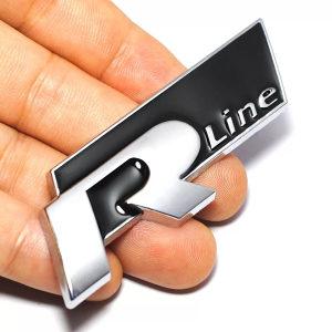 R Line VW znak za lim (crni) Dostava besplatna