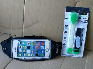 Bubreg torbica za mobitel + sigurnosno svijetlo