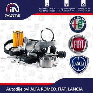 Auto dijelovi ALFA ROMEO FIAT LANCIA