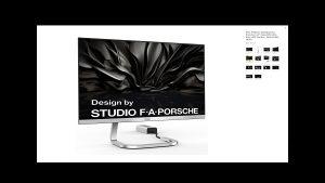 "AOC PDS241 Porsche Design 24"" IPS super tanki"