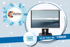 """WINTER SALE - HP LA2405wg - 24"""" FULL HD"""