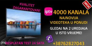 NAJKVALITETNIJA IPTV U HD-u SA 4500+ KANALA-SERVIS 24/7