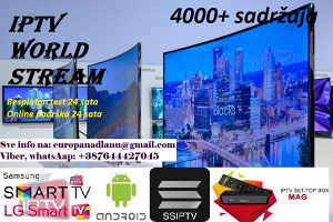 IPTV World Stream Kanali sa preko 4000+ kanala