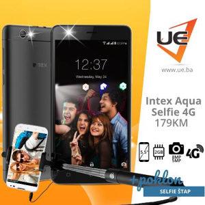 INTEX Smartphone Aqua Selfie 4G + POKLON