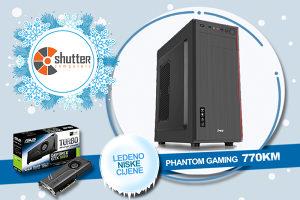 WINTER SALE - GAMING PC MS PHANTOM i5 3.Gen GTX1060 6GB