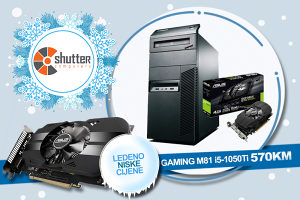WINTER SALE - GAMING RACUNAR LENOVO M81 i5 1050Ti