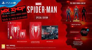 SPIDERMAN Special Edition Playstation 4 PS4 SPIDER-MAN
