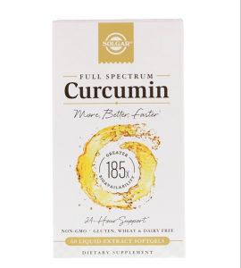 Curcumin / Full Spectrum / Solgar / 60 mekih kapsula